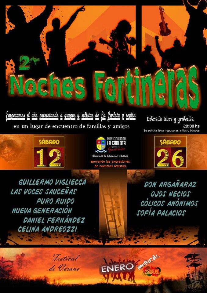 Hoy culmina el Festival «Noches Fortineras»