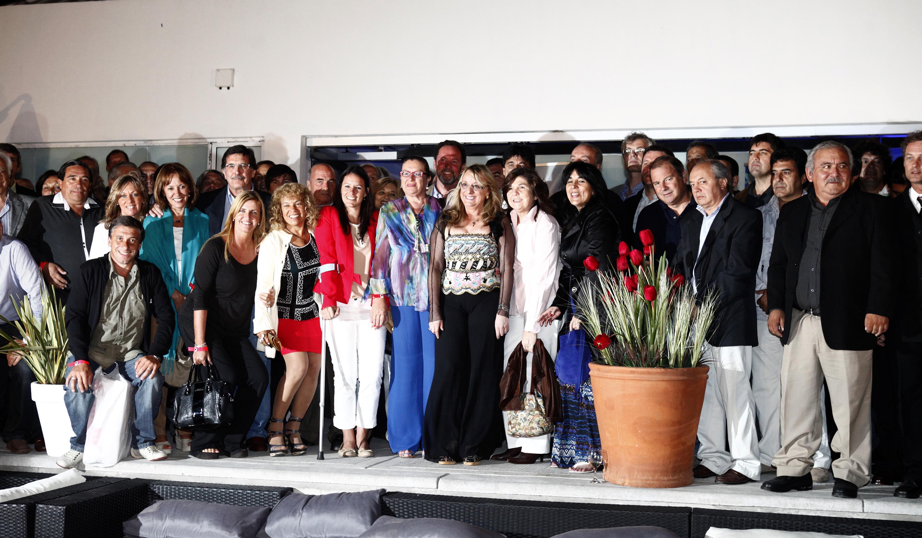 Intendentes Cordobeses con Alicia Kirchner