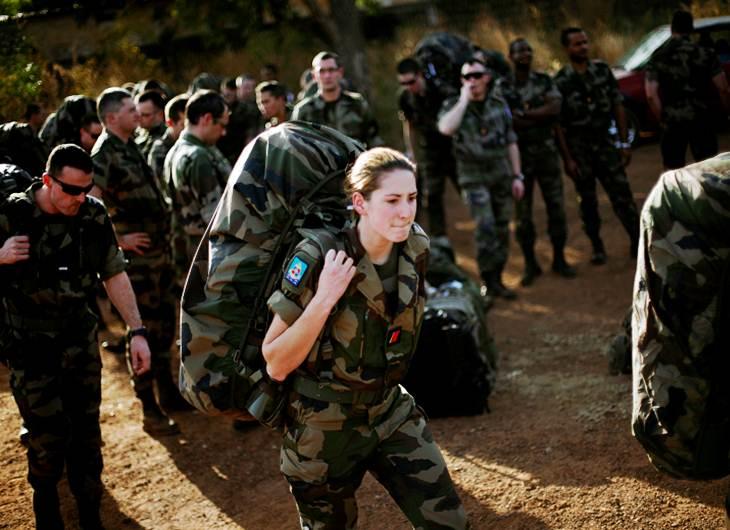 Presencia de los franceses en Mali.