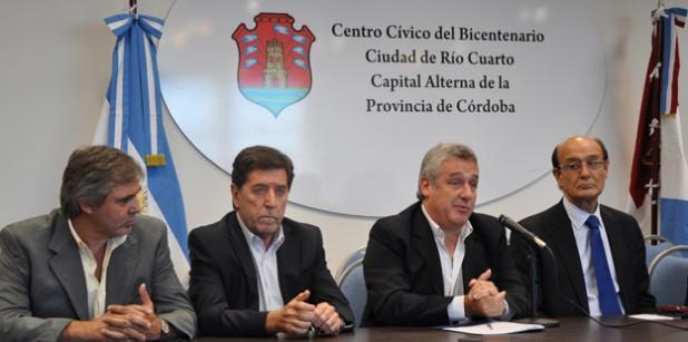 Registro de la Propiedad: Luego de Rio Cuarto, a Villa María.