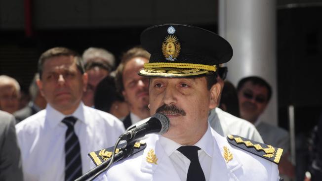 Denuncian por amenazas al jefe de la Policía de Córdoba