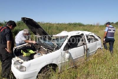 Hubo 21 heridos en 4 accidentes en el camino que lleva a Achiras