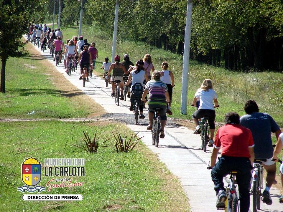 Bicicleteada de domingo