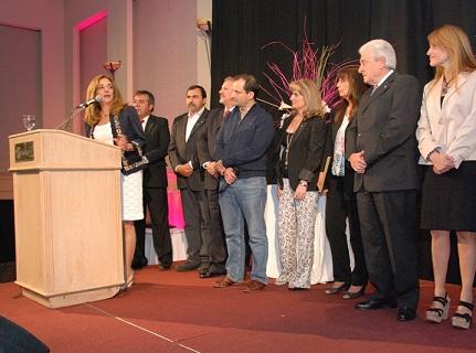 La Vicegobernadora Alicia Pregno se encontró con mujeres empresarias.