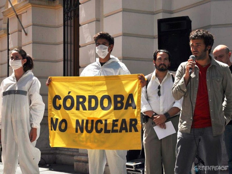 Organizaciones presentaron proyecto de Ley para prohibir actividades nucleares en Córdoba