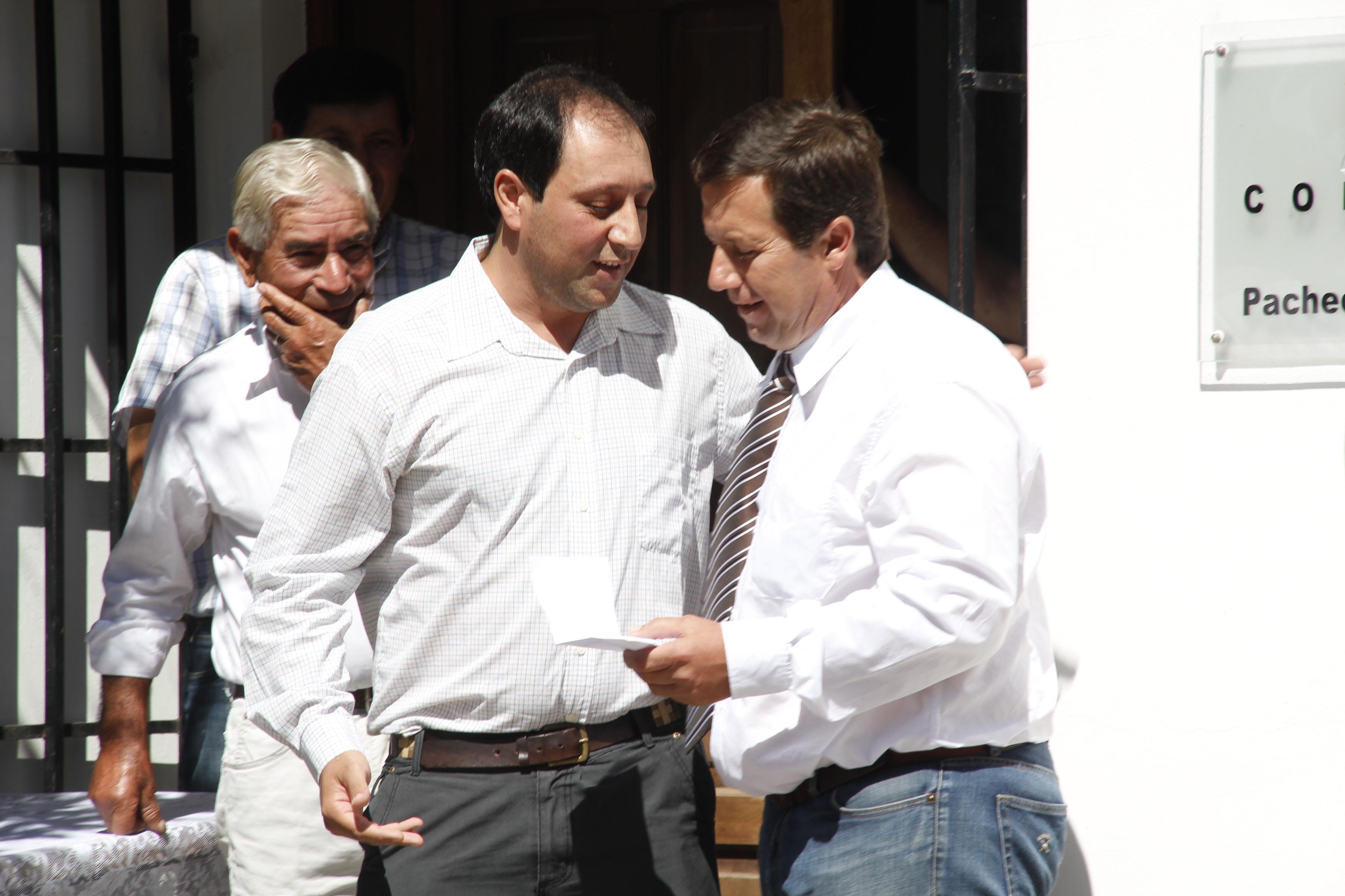 El Boleto Educativo llegó a Pacheco de Melo