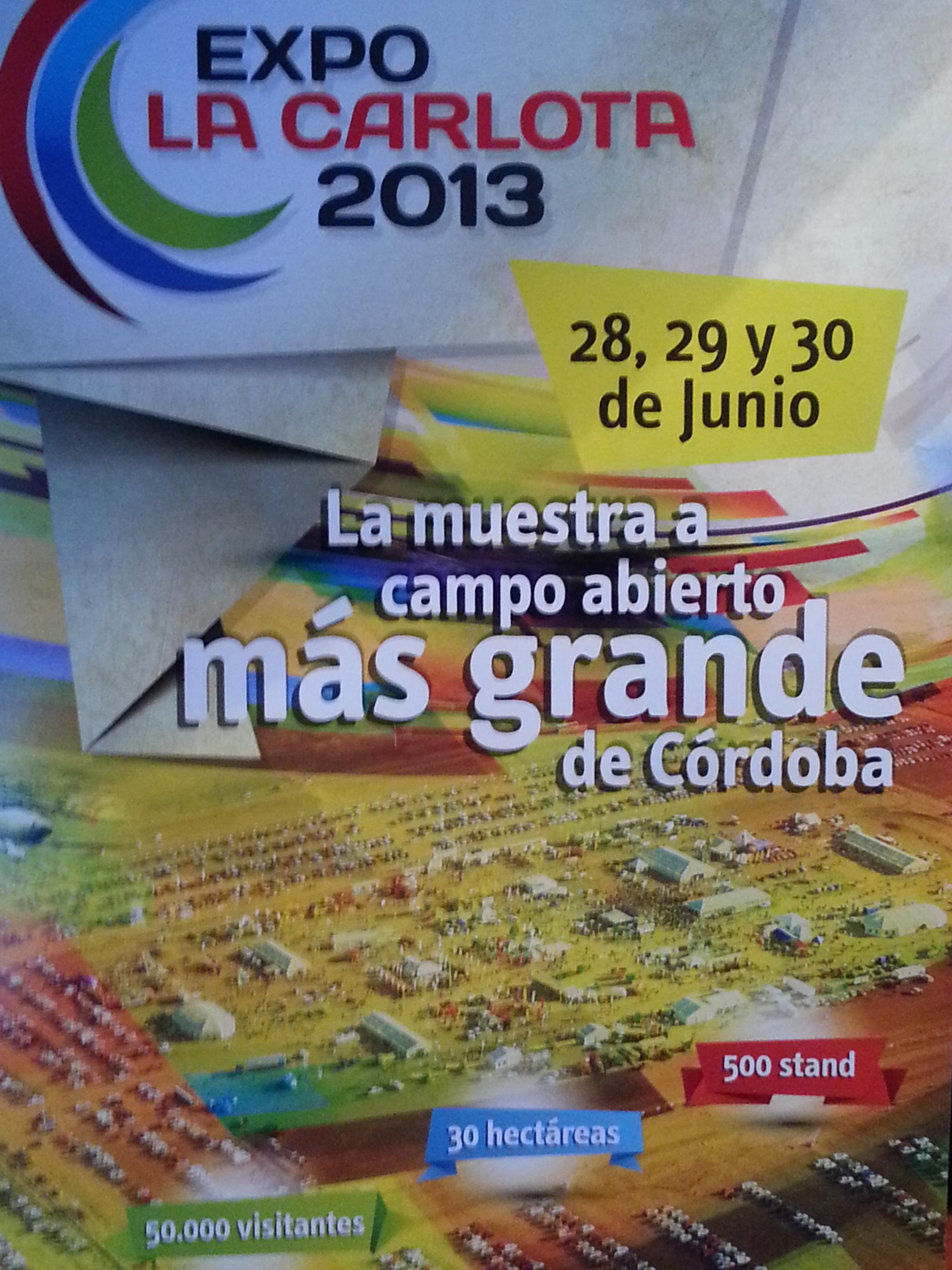 Se lanzó formalmente la Expo La Carlota 2013.