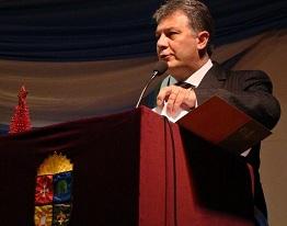 Guaschino participó de los festejos de la Comuna Punta del Agua.