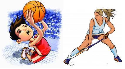 Hockey y Básquet en casa