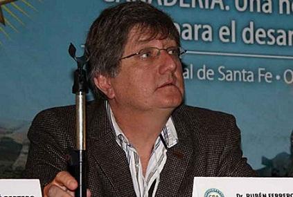 """Ferrero en Santa Fe: """"A nosotros nadie nos condiciona para seguir diciendo la verdad»."""