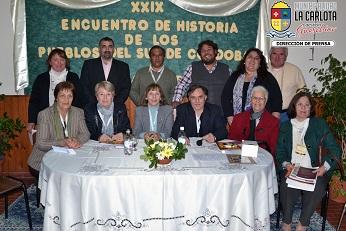Se desarrolló el 29º Encuentro de Historia de los Pueblos del Sur de Córdoba.