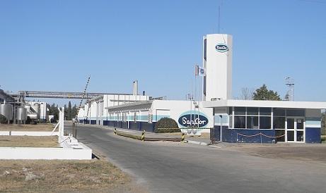 La situación de la planta carlotense de Sancor en la actualidad.