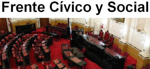 Desde el Bloque Frente Cívico y Social se presentan dos proyectos de declaración.