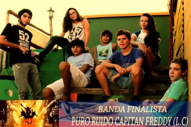 El Rock and Roll de La Carlota a Puro Ruido en Vamos las bandas 2013