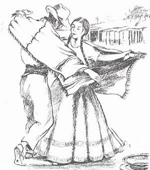 """Ganadores del 1° Certamen Nacional de Tango y Folklore """"Del Algarrobo al Ombú""""."""