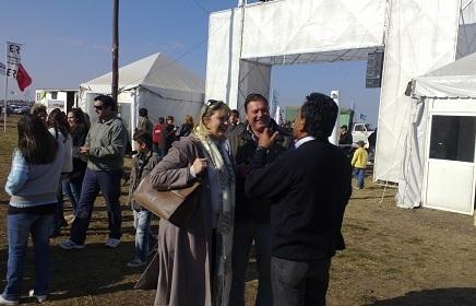 Diputada Patricia De Ferrari visitó la Expo La Carlota.