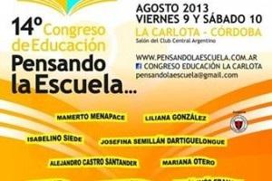 Novedades del Congreso de Educación.