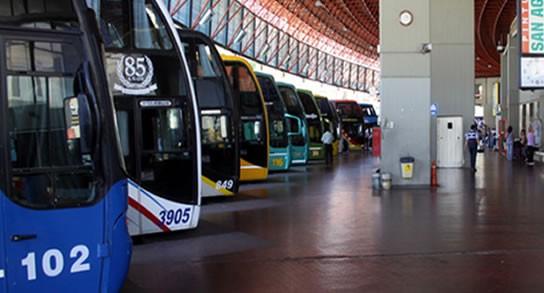 Aumentan los controles en la terminal de Córdoba dado al movimiento Turístico.