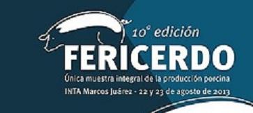 Programa de charlas técnicas en FeriCerdo 2013.