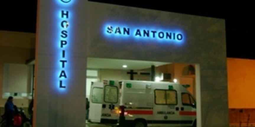 """Rolando """"seguimos adelante con las mejoras edilicias en el hospital""""."""