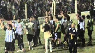 Video: Festejos de Ross con sus hinchas tras el partido
