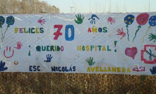 La experiencia cooperativa de trabajo del hospital de Viamonte.