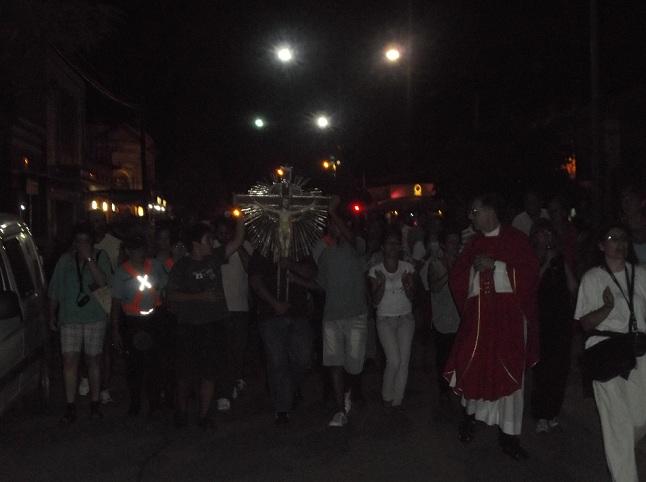 VIDEOS: retorna el Cristo a la Ciudad de La Carlota
