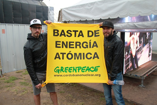 """Cosquín Rock: Artistas suman su apoyo a la campaña """"Córdoba No nuclear"""""""