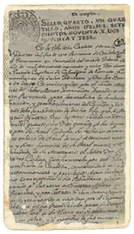 Acto del aniversario de la firma de la Cédula Real