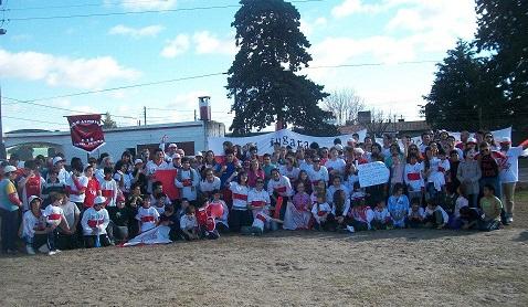 El Club Sportivo Rural festejó sus 90 Años con un Banderazo