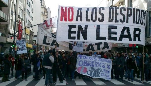 Jornada Nacional en apoyo a los trabajadores de Lear