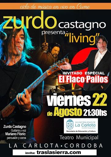 Zurdo Castagno y el flaco Pailos en La Carlota