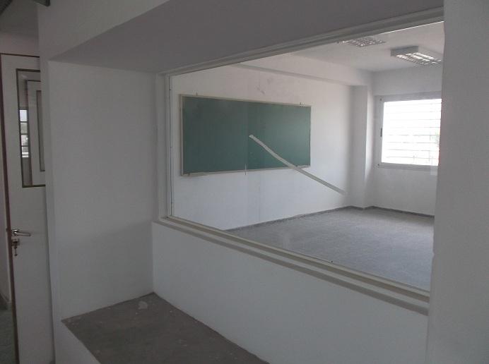 aula desde pasillo