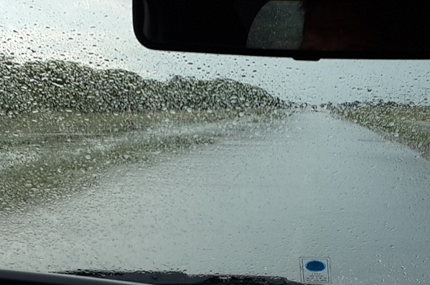 Registro de precipitaciones en La Carlota – Mayo 2017