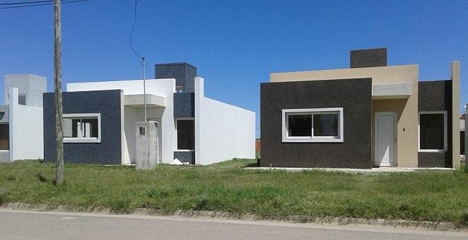 Sorteo de viviendas del plan 100 Eva Perón