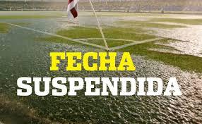 Fecha suspendida…Domingo sin futbol