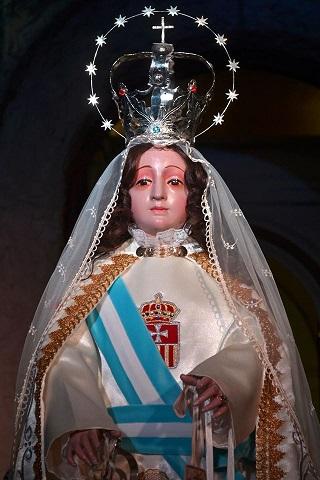 Recorrido de la imagen de la Virgen de la Merced el día jueves 24 de setiembre de 2020 a las 17 hs.: