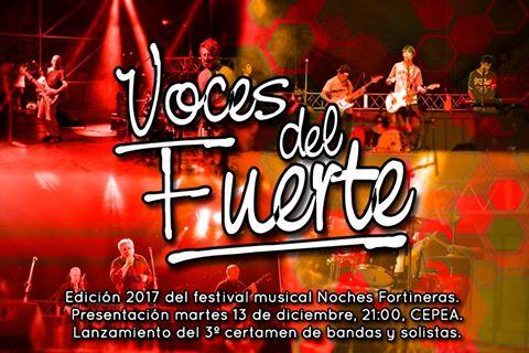 21 bandas y solistas de La Carlota y región participarán en el concurso Voces del Fuerte