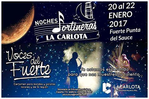 El ganador del certamen Voces del Fuerte actuará en el Recorrido Peñero del Festival de Villa María