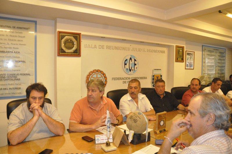 Zonas y Fixture Provincial Clubes 2017
