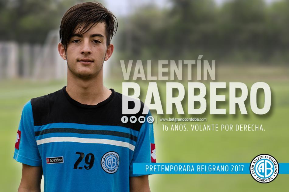 Barbero con Belgrano a Chile