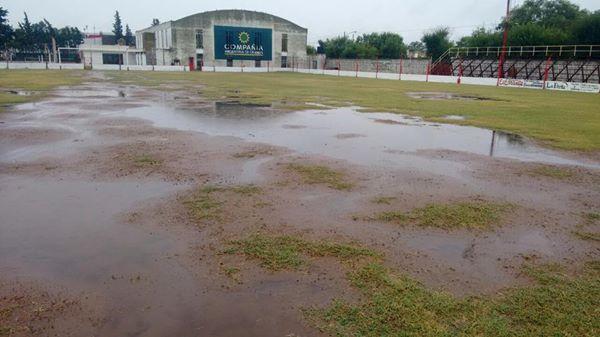 Por la lluvia juegan el lunes