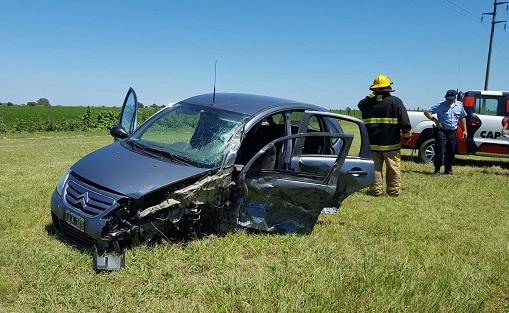 Accidente en cercanías de Los Cisnes