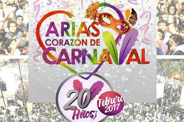 Arias celebra la 20º edición de su tradicional carnaval