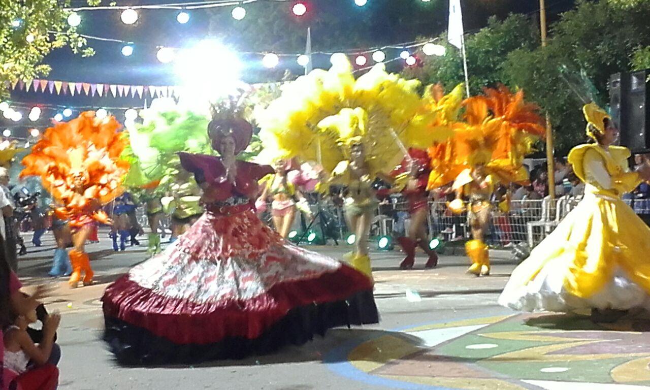 Primera noche de carnavales