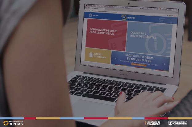 Los cordobeses se acostumbran al pago de impuestos online
