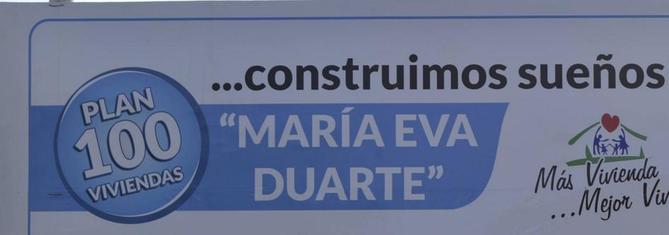 Sorteo de viviendas del plan Eva Duarte