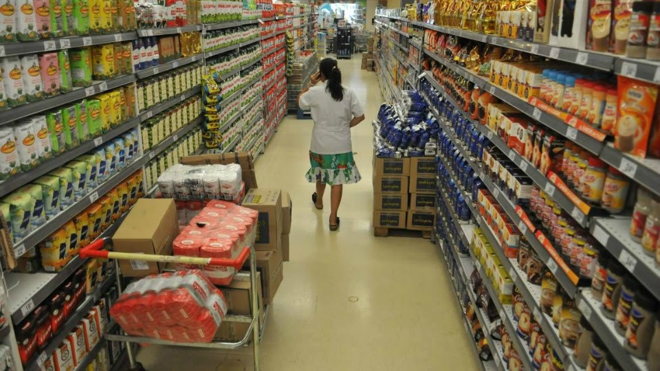 Alimentos aumentaron 2,05% durante febrero