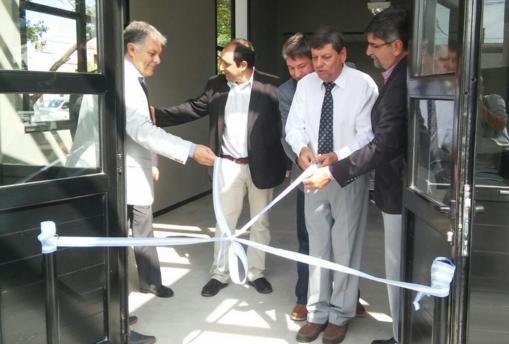 EPEC inauguró obras edilicias en la ciudad