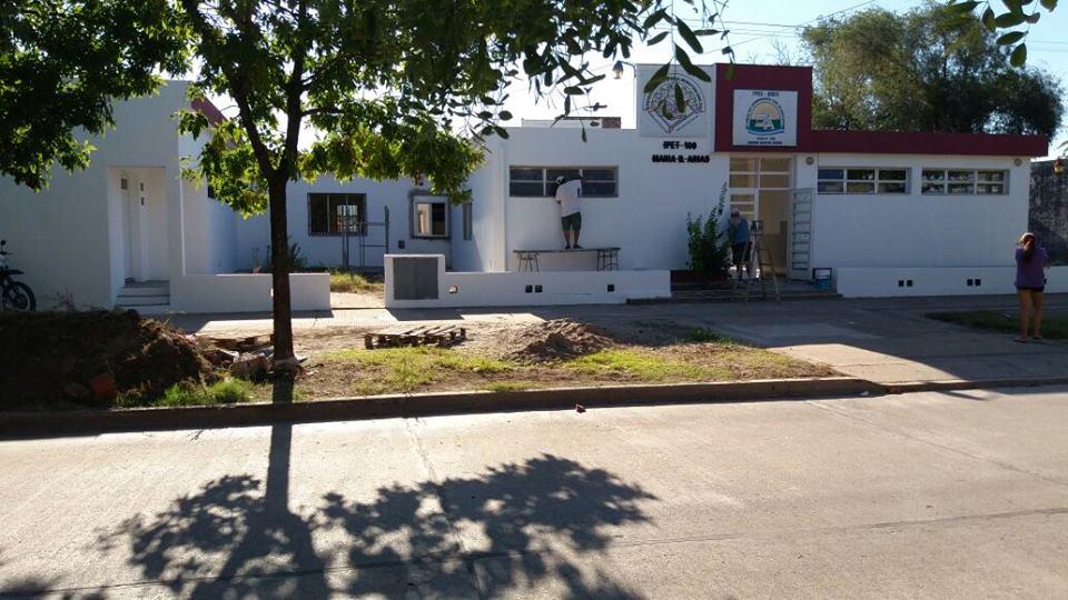 Inauguración de Biblioteca en el Maria Benita Arias